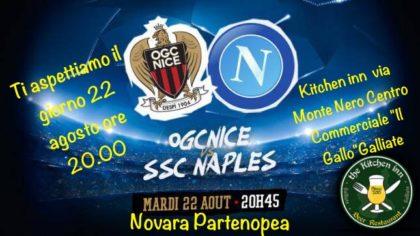 Nizza  – Napoli, il ritorno!